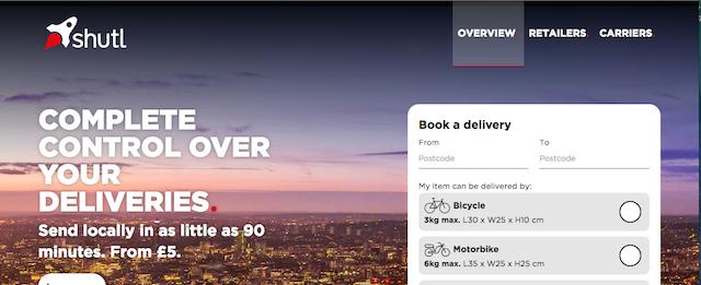 shutl, retail innovation, delivery innovation, delivery innovators, retail delivery, retail trends, retail interviews,